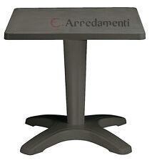 tavolo in resina per esterno giardino o interno contract ristorante bar tavoli