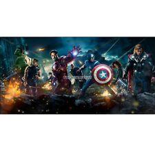 Stickers chambre d enfant tête de lit Avengers réf 8506 8506