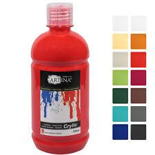 500 ml Acrylfarbe Malfarbe Künstlerfarbe Farbe Malen Acrylfarben Künstler Tuben
