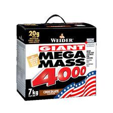 Weider Giant Mega Mass 4000 7kg Whey Protein Mass Gainer Weight Gain