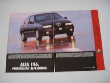 advertising Pubblicità 1995 ALFA ROMEO 146