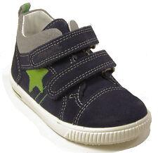 SUPERFIT Schuhe Klettverschluss echt Leder blau Babyschuhe Lauflernschuhe NEU