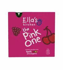 Ellas Kitchen Smoothie Fruit Pink One Multipack 90gx5 x 3 Money Saving Bun