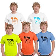 Bazooka Joe Retro Inspirado Diseño Camiseta