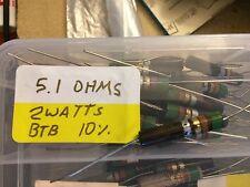 Vintage IRC Resistor BTB BTA BW 5.1 - 680K 330 1.8k 2k 2.2k 20k 27k 36k kng365