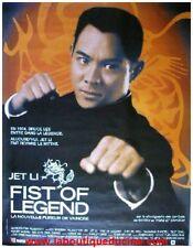 FIST OF LEGEND Affiche Cinéma / Movie Poster JET LI / BRUCE LEE