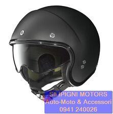 NOLAN N21 DURANGO 07 Flat Black + Visiera Dark - Casco Jet Moto Special Custom