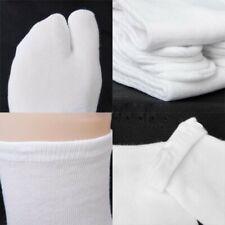 6Pcs Cotton Flip Flop Sandal Split Japanese Kimono Toe Tabi Ni nja Socks Unisex