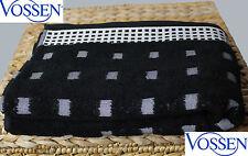 Duschtuch VOSSEN COUNTRY 652qm schwarz / ivory