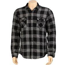 $60 KR3W Hardee Long Sleeve Shirt (black) K15206BLK