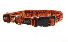 Hunter Dog Collar Krazy Beast Sansibar Nylon Orange Adjustable