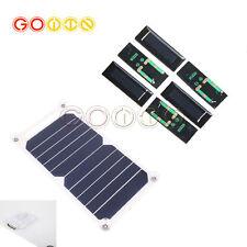 Portable 10W 5V Solar Charging Panel USB Socket Charger for Mobile phone Tablet