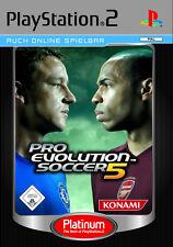 PS 2 juego Pro Evolution Soccer 5 Platinum (2006) nuevo & OVP