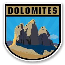 2 x Dolomites Vinyl Sticker Laptop Travel Luggage Car #5455