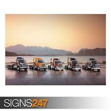 Western Star Trucks (AC007) Poster-Foto Poster Print Art A0 A1 A2 A3 A4