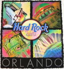 Hard Rock Cafe ORLANDO 1990s HEAVY Tee T-SHIRT 4 Icons City Tee Mens SIZE Medium