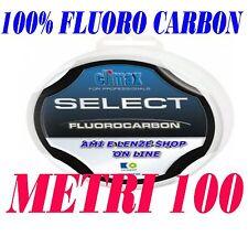 FLUOROCARBON 100% INVISIBILE  Monofilo Fluoro carbon filo pesca mare lago gara