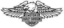 Pegatina Vinilo HARLEY DAVIDSON autocollant sticker vinyl tuning moto