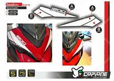 Adhesive Stickers Compatible Ducati Multistrada 1200 Tapered MT14
