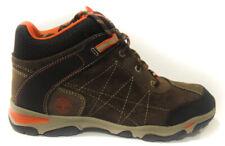 timberland 2690r marrone  arancione scarponcino da bambino chiusura a lacci
