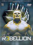 WWE - Rebellion (DVD, 2003) Brock Lesnar, Rey Mysterio, Matt Hardy