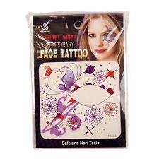 Large Colourful Eyeliner Tattoos!  Fancy Dress