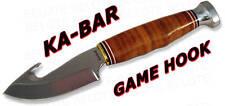 Ka-Bar KaBar Knives Game Hook Fixed Blade w/ Sheath 1234 NEW