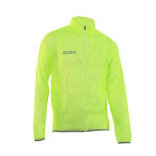 Cycling Waterproof Rain Jacket - Fluoro