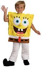 Spongebob Deluxe Toddler Costume Squarepants Childrens Kids Cute Cartoon Yellow