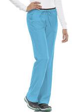 Turquoise HeartSoul Scrubs Heart Breaker Low Rise Drawstring Pants 20110 TURH
