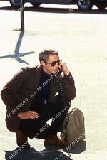 Steve McQueen on the portable telephone film The Thomas Crown Affair 8b20-19053