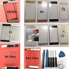 Outer Front Screen Glass Lens For Sony Xperia XA XA1 Ultra XZ XP L1 E6 +tool&OCA