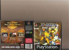 X Men 2 Mutant Academy Playstation 1 PS1 PS 2