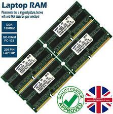 2GB 4GB 8GB Memory RAM Laptop PC133 DDR 133MHz 200 Pin Non-ECC Unbuffered Lot