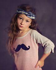 Jak & Peppar girl boho chic boutique raglan rock on top shirt tee 16 (14 12 10)