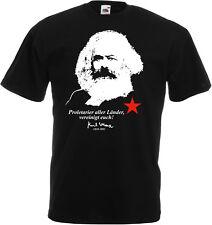 KARL MARX Proletarier aller Länder, vereinigt euch! T-Shirt, schwarz
