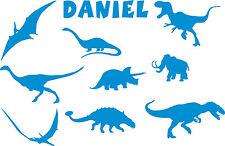 Personalizzato Dinosauro da parete, arte 3 misure Cameretta ragazzi