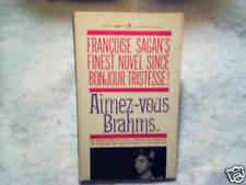 1961 GOODBYE AGAIN Aimez-Vous Brahms ingrid bergman