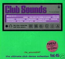 Club Sounds Vol. 45   Ultimate Club Dance   3CD-Set NEU