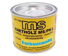 Knetholz Farbton Auswahl 200gr Spachtelmasse BAO-Holzkitt Holzpaste Füllspachtel