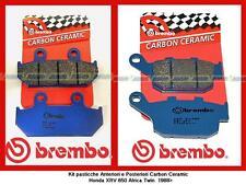 07HO3509+07HO2711 Bremseklotz Brembo Hinten+Post Honda XIV 650 Africa Twin '88