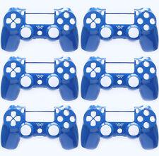 6 x Custom Blue Playstation 4 Faceplate Housing Shell PS4 Slim Version 2 JDM-040