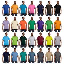 Hanes Mens Short Sleeve T Shirt  S M L XL 2XL 3X 4XL 5XL 5250