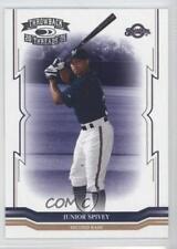 2005 Donruss Throwback Threads 258 Junior Spivey Milwaukee Brewers Baseball Card