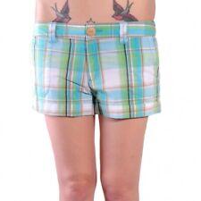 Vans Boardwalk Plaid Shorts Hose Hotpants blau grün