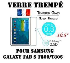 Vitre Protection Film écran VERRE TREMPE 9H Samsung Galaxy Tab S T800/T805  10.5