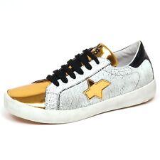 F5322 sneaker bimba girl W6YZ WIZZ SUN scarpe vintage/crack effect shoe