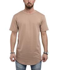 Phoenix Extra-large Rond Tee-shirt Désert Haut long T-shirt Basic Pour Hommes