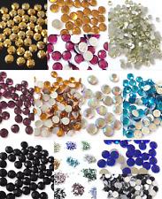 1440pcs-10Gross Czech Crystal Rhinestones Top Quality Flatback CHOOSE COLOR-ss20