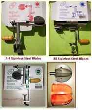 Coconut Grater scraper shredder ODIRIS-Stainless Steel Blades High Quality.